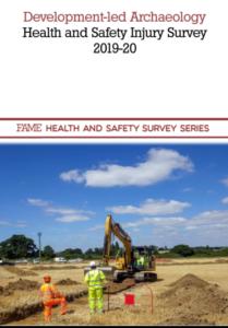 Development-led Archaeology Health and Safety Injury Survey 2019-20